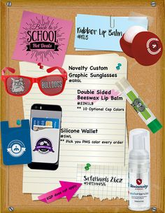 Back to School Products!