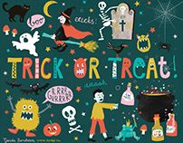 Halloween illustration by Tjarda Borsboom