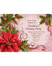 Christmas Invitations/Thank Yous from WholesalePartySupplies.com