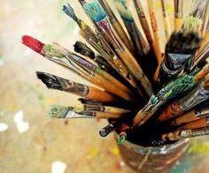 Great photograph for painting inspiration. Love Art, My Love, Atelier D Art, Vincent Van Gogh, Paint Brushes, Belle Photo, Art Studios, Oeuvre D'art, Artsy Fartsy