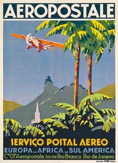 Destino Rio, com 40 cartazes turísticos do século 20 - Lilian Pacce