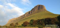 Atlantic Rose Cottage is situated under Benbulben Mountain Ireland Holiday, Rose Cottage, Monument Valley, Wander, Mountain, Nature, Travel, Viajes, Traveling