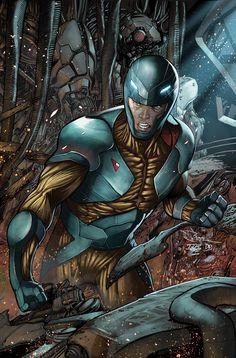 X-O Manowar #30 variant by Rafa Sandoval
