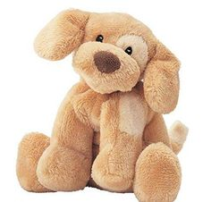 4 Inches Brown Plush Stuffed Spunky Dog Toy Cute Face Soft Fluffy Doggy Pet Animal Toys Adorable Friendly Puppy Cuddly Foot & Hand Bright Solid Color