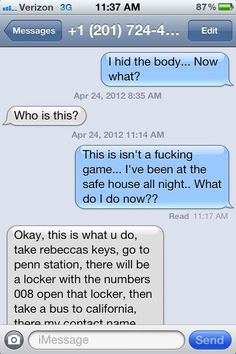 Whoever sent this text to a random number. | 26 People That Prove Boredom Breeds Brilliance