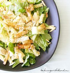 Chinese Chicken Salad with Sesame Dressing- dressing looks yummy, omit pasta