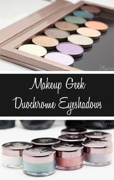 Phyrra shares swatches and thoughts on the new Makeup Geek Duochrome eyeshadows and pigments. See how they look in different light. Do you love duochromes?