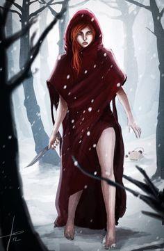 ...Le sirvió una copa envenenada con tejo, y la noche de la Luna Oscura, dio de comer su cuerpo a los Cuervos de la Venganza...