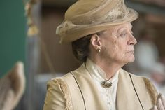 As matriarch of the Crawley family, Violet, Dowager Countess of Grantham, is concerned with preserving Downton Abbey and protecting her children, grandchildren and great-grandchildren. Although her acerbic wit and acid tongue endures, Violet also has a gentler side. Losing Sybil and now Matthew has taken a terrible toll on the family and it is in these moments that Violet's true strength and wisdom is revealed. Played by Maggie Smith.