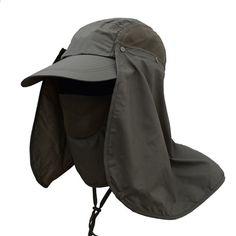f09590a1119 Utomhus Sport Vandring Visorhatt UV-skydd Ansikte Halsduk Fiske Sun Protcet  Cap