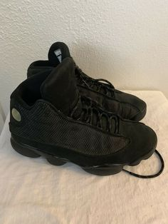 9e0ac23fbf4 Air Jordan 13 Black Cat Mens Sz 8 #fashion #clothing #shoes #accessories