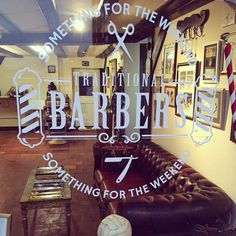 Something for the Weekend. Traditional barber shop.