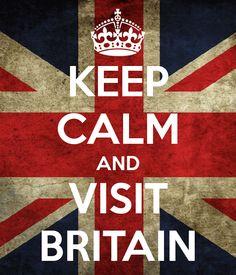 Keep calm & visit Britain