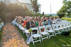 Garden Ceremony - #weddings #ceremony Formal Gardens, Raspberry, Table Decorations, Weddings, Home Decor, Decoration Home, Room Decor, Raspberries, Mariage