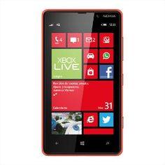 Nokia Lumia 820 Mobile Phone - Red