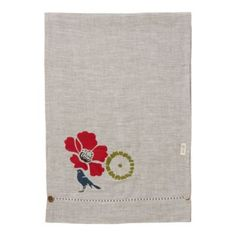 Tied Bouquet Table Runner - Celina Mancurti  for terrain    http://www.shopterrain.com/linens-aprons/tied-bouquet-table-runner