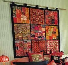 Traditional indian wall decor traditional wall hangings adding colors to your home decorating synonym . Indian Wall Decor, Indian Home Decor, Bohemian Decor, Boho, Indian Interiors, Indian Homes, Trendy Home, Traditional Design, Traditional Decorating