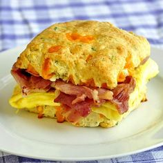 Cheddar and Chive Buttermilk Biscuits make fantastic breakfast sandwiches With the weekend on the horizon, here's a timely recipe variation that provides the basis for fantastic breakfast sandwiches for your weekend brunch. Many recipes for cheese biscuits call for grated cheese but I find the strands of cheese can toughen the tender biscuit dough. Instead …