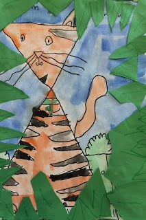 Art Room 104: 1st Grade: Shape Animals With Depth
