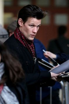 Matt Smith, looking particularly fabulous ;) | I'll say... (: