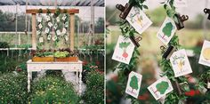 Stationery: Make Merry! - Farm to Table Wedding Inspiration shot by Kat Braman at Swank Farms - via Grey like Weddings
