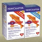 """New Chapter's Wholemega Whole Fish Oil supplement offers a whole-food approach to fish oil supplements. It's a naturally pure 100% wild-caught Alaskan salmon oil that delivers the whole, natural omegas, antioxidants and vitamins found in wild Alaskan salmon – the good stuff """"purified"""" fish oils can reduce with chemical processing. We are blown away by the quality and efficacy of this fish oil and think it's safe to say that it is the highest quality fish oil you can find in the health food…"""
