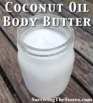 Make Coconut Oil into a body butter, no need for deoderant after applying this each day!