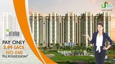Pay only 2.99 lacs and No EMI Till Possession. To Know more call us at 8010-119-119 or visit our website http://www.unnatifortune.com/the-aranya  #residence #housing #realestate #Noida #Expressway