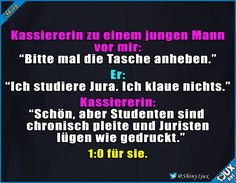 is not entirely wrong. Life Life She is not entirely wrong. - -She is not entirely wrong. - - Erfolg nicht garantiert :P Lustig Pinner Comebacks To Guys, Tattoos Gone Wrong, Bad Life, Funny Comics, Funny Cute, True Stories, Fun Facts, Haha, Funny Memes