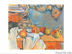 Paul Cézanne - Stilleben mit Granatapfel und Birnen