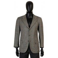 Kiton - gray cashmere blazer for men