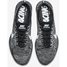 26c807a21c7 Nike Flyknit Racer ( 150) ❤ liked on Polyvore featuring shoes