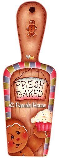 $4.00 Fresh Baked e-pattern by Pamela House