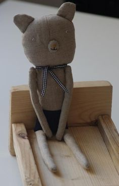 Cutest Teddy Bear from Adatine on Etsy