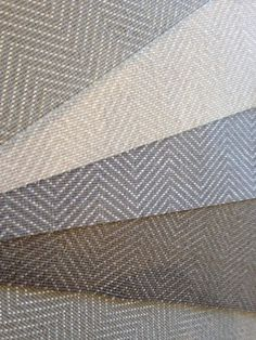 """Geometric Pattern Carpet and Rugs - Stunning Herringbone pattern offered for wall to wall installation, area rugs and stair runners.  Wool / polyester blend comes on a wide roll - 15' in width.  The polyester thread adds a sheen for a bit of """"bling""""."""