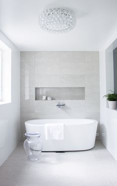 Are you looking for some minimalist bathroom ideas? Here we have several pictures of minimalist bathroom decor ideas you try. No matter how big or small your bathroom is, decorating this room… Continue Reading → Minimalist Bathroom Inspiration, Minimalist Home Decor, Minimalist Design, Modern Shower, Modern Bathroom, Bathroom Ideas, Bathroom Niche, Concrete Bathroom, Bathroom Inspo