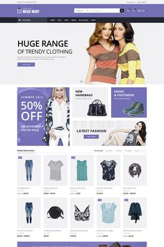 Megamart is a WooCommerce Multi-Purpose Responsive Theme build for online store like Electronics, Fashion, Jewellery, Furniture, Accessories, Cloths, Blog and other multipurpose store.  #fashion #beauty #woocommerce #onlinestore #templatedesign https://www.templatemonster.com/woocommerce-themes/megamart-multi-purpose-responsive-theme-woocommerce-theme-68501.html