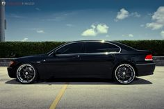 Interior And Exterior Of The Car BMW 745Li E65 Description From