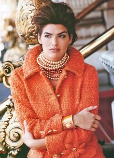 Tangerine and Pearls
