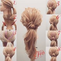 hair styles for long hair down wedding hair wedding hair hair idea for wedding hair wedding hair dos hair styles medium wedding hair updos Pretty Hairstyles, Braided Hairstyles, Simple Hairstyles, Hairstyle Ideas, Hairstyle Tutorials, Ponytail Hairstyles Tutorial, Ponytail Ideas, Messy Ponytail Tutorial, Low Pony Hairstyles