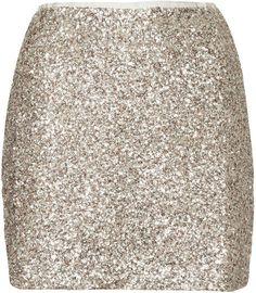 Twinkle sequin pelmet skirt, Topshop