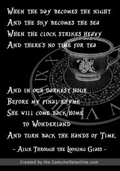 alice in wonderland quotes Through the Looking Glass quote for counter decoration Alice Quotes, Poem Quotes, Disney Quotes, True Quotes, Alice And Wonderland Quotes, Adventures In Wonderland, Wonderland Tattoo, Wonderland Party, Alice Madness