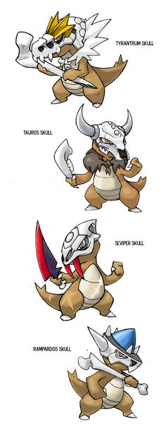 Marowak Variations meme by darksilvania.deviantart.com on @DeviantArt