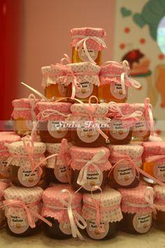 honey jars , bal kavanozları, bebek doğum hediyeleri,