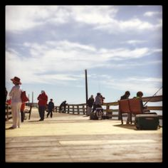 The Avon Pier is under new ownership and OPEN for the 2014 season! Sightseeing or fishing, it's a good time for the whole family. #hatterasisland #surforsound #taketimeforislandtime