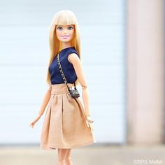 """Barbie® no Instagram: """"Keeping it simple for a day on-the-go!  #barbie #barbiestyle"""""""