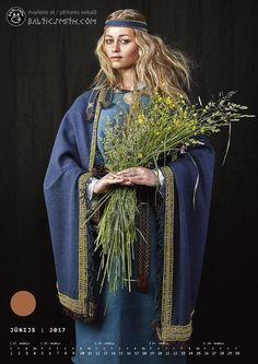 2017 Calendar: 7th-14th century garb from all the by Balticsmith