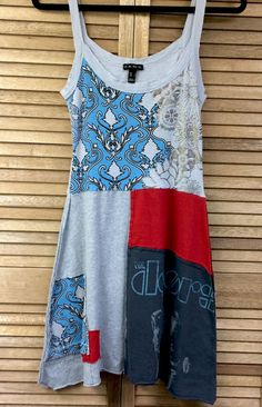 Upcycled Dress, Jim Morrison,The Doors, Jr Size Large