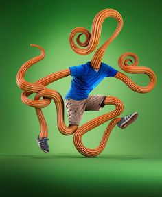 LIVING SCULPTURES by Mike Campau, via Behance