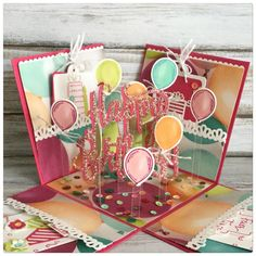 Most recent Pictures Scrapbooking Paper birthday Tips Scrapping is a wonderful way to immortalize a family associates people appreciate along with capture Handmade Birthday Cards, Birthday Gifts, Birthday Explosion Box, Exploding Gift Box, Tarjetas Diy, Pop Up Box Cards, Diy Gifts, Handmade Gifts, Birthday Greetings